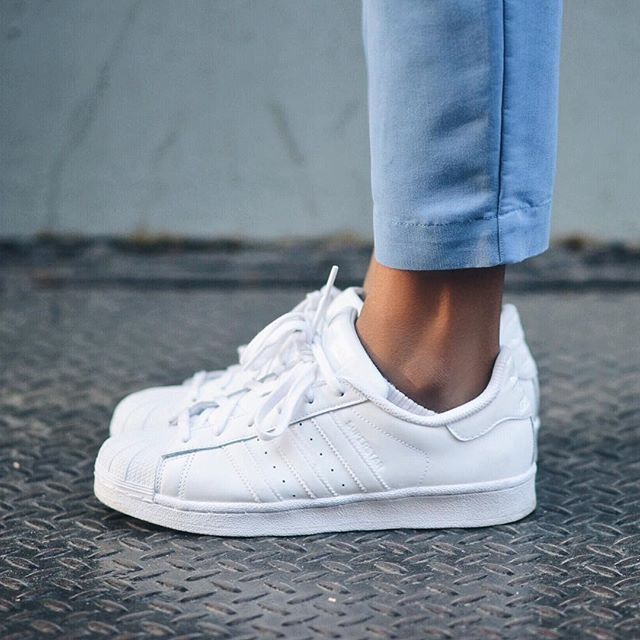 adidas sneakers femme blanc