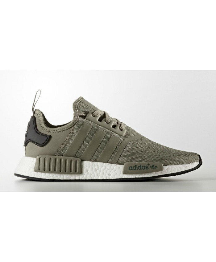 Réduction authentique adidas nmd kaki pas cher Baskets