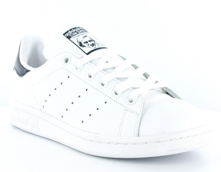 Réduction authentique adidas stan smith homme blanche et noir ... ddd3c009d1f0