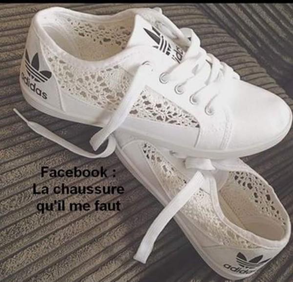 bafe418c97 Réduction authentique adidas superstar dentelle femme Baskets ...