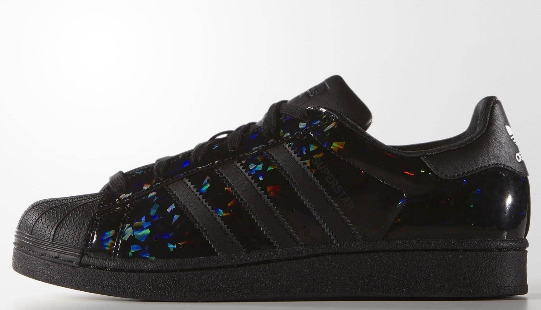brand new 94e8c ed580 adidas superstar noir brillant