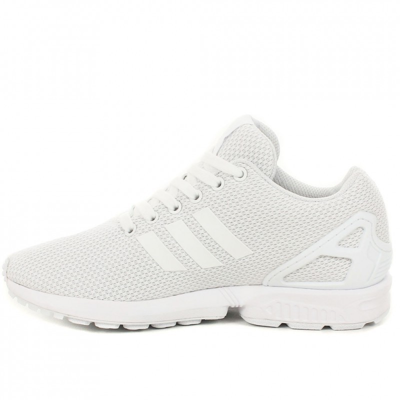 Réduction authentique adidas zx blanche femme Baskets