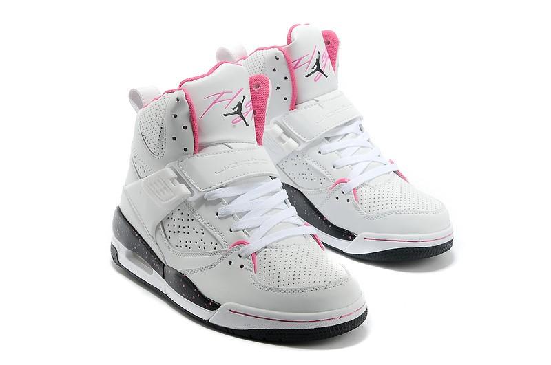 meilleur site web cbe93 b1bca Réduction authentique air jordan femme rose et blanche ...
