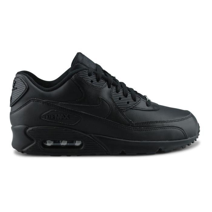 96d43bffcb2 Réduction authentique air max 90 cuir noir homme Baskets - panier-bio-cressonniere.fr.  air max 90 cuir noir homme